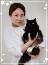 動物看護師長 田中純子